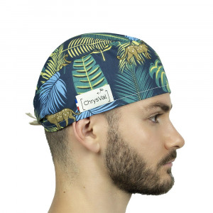 Calot fantaisie Motif Tropical